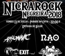 NicraRock 2018: Aphonnic + Nao + Exit + Astarot