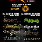 Cartel festival benéfico Rock Children Vigo 2018