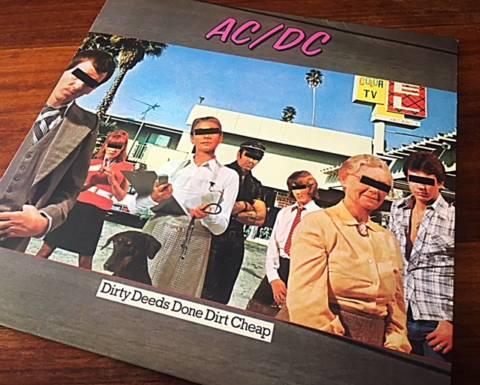 La excelencia de un clásico que definió un estilo. «Dirty Deeds Done Dirt Cheap» de los AC/DC