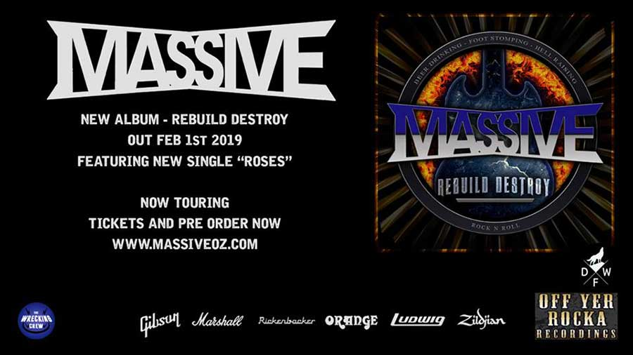 Preorder Reuild Destroy Massive album