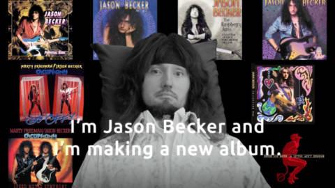 Jason Becker anuncia los guitarristas que colaboran en su disco