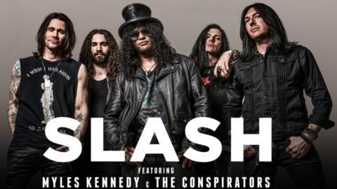 Slash dará dos conciertos en España con Myles Kennedy & the Conspirators