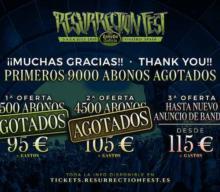 9000 abonos para el Resurrection Fest 2019 vendidos en hora y media