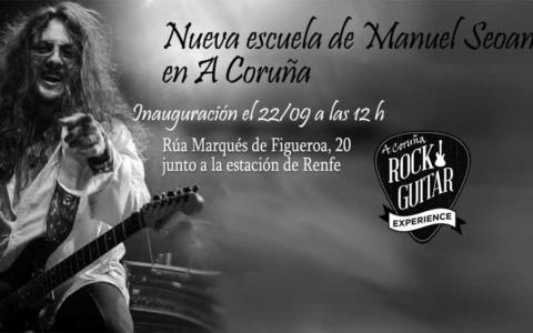 La Rock Guitar Experience de Manuel Seoane llega a A Coruña