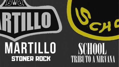 School (Tributo a Nirvana) + Martillo (Stoner Rock) CORUÑA