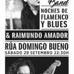 Cartel Noches de Flamenco y Blues: Javier Vargas y Raimundo Amador en Porriño