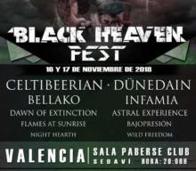 Cartel Black Heaven Metal Fest 2018