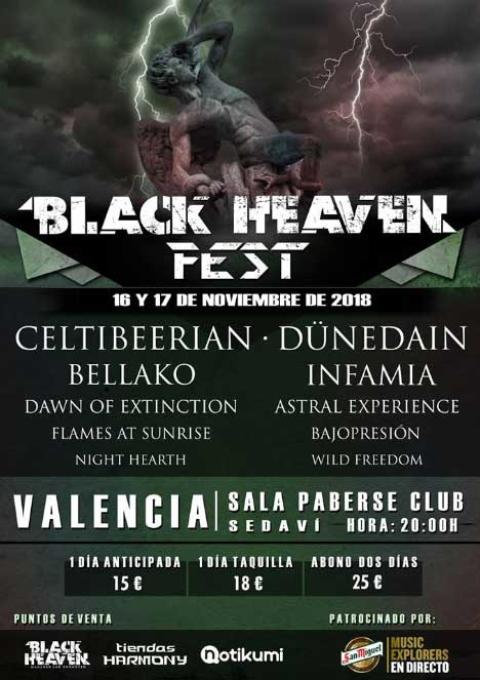 Cartel Black Heaven Metal Fest 2018
