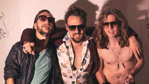 El rock psicodélico de Bite The Bullet de gira por España