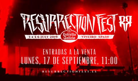 Resurrection Fest 2019 confirma primeras bandas y fecha del festival