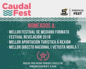 Nominaciones Caudal Fest