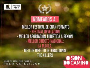 Nominaciones O Son do Camiño