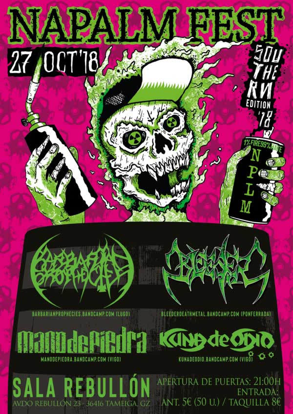 cartel Napalm Fest Southern Edition