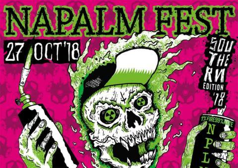 Napalm Fest Southern Edition se celebrará en Mos el día 27 de octubre