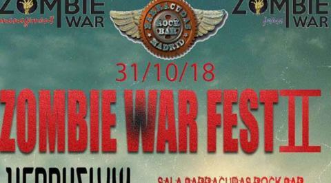 Noche de Halloween, noche del Zombie War Fest