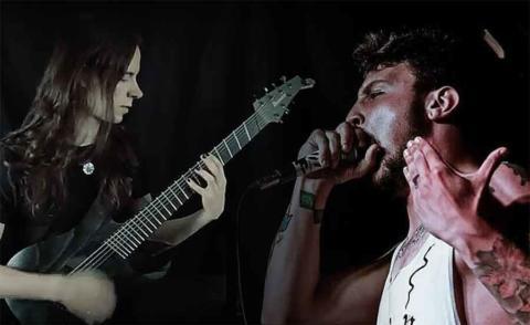 Iván Ponte, nuevo vocalista de Amenaza de Muerte, que estrenan vídeo playthrough