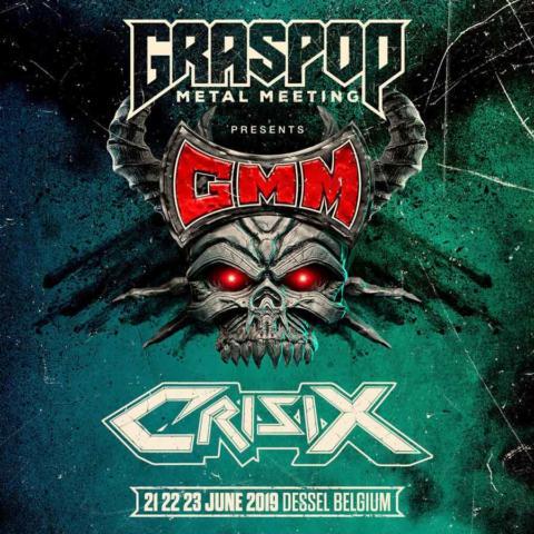 Crisix será la primera banda nacional en actuar en el Graspop Metal Meeting