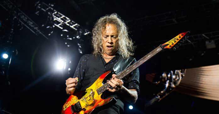 Kirk Hammett wah wah