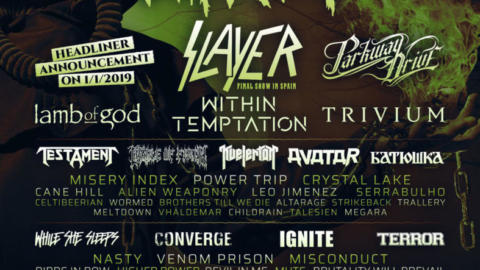 Lamb of God, los más destacados entre las nuevas confirmaciones del Resurrection Fest 2019