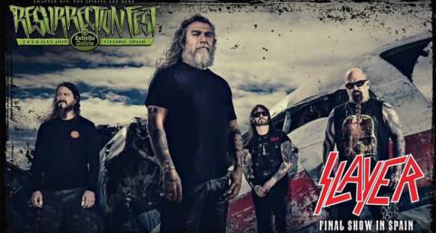 El último concierto de Slayer en España será en el Resurrection Fest 2019