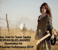 Susan Santos nominada en los European Blues Awards