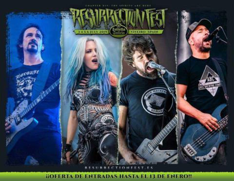 El Resurrection Fest anuncia confirmaciones: Gojira,Arch Enemy,Millencolin yBerri Txarrak con su gira despedida