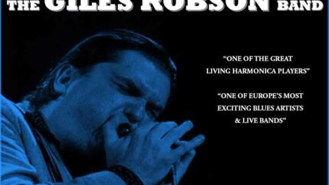 "Conciertos de Giles Robson ""World leading blues harmonica player"""
