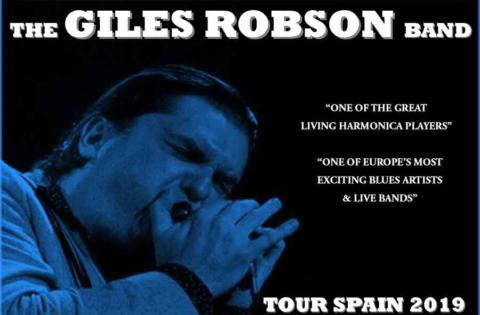 Conciertos de Giles Robson «World leading blues harmonica player»
