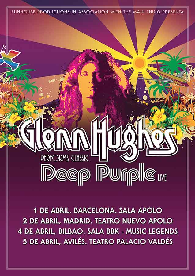 cartel Glenn Hughes Performs Classic Deep Purple Live