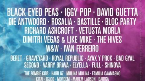 Black Eyed Peas, Iggy Pop, David Guetta, Die Antwoord, Rosalía, Bastille, Vetusta Morla, Bloc Party y muchos más serán los protagonistas de O Son do Camiño 2019