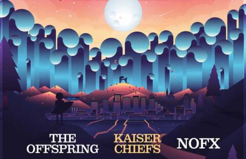Tsunami Xixón 2019: The Offspring, Kaiser Chiefs y NOFX encabecarán el festival