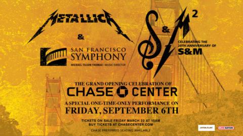 Concierto 20 aniversario del Symphony & Metallica