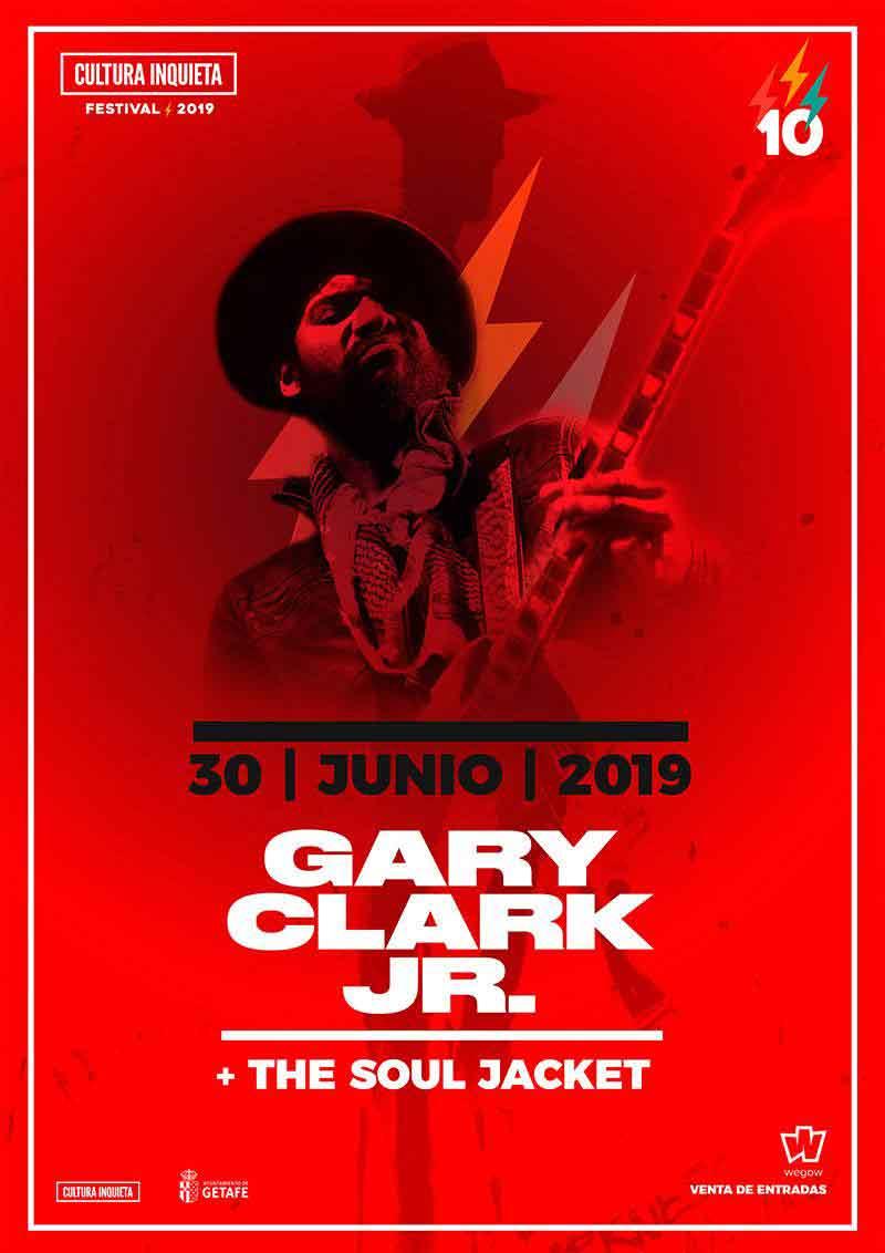 Cartel Gary Clark Cultura Inquieta Festival 2019