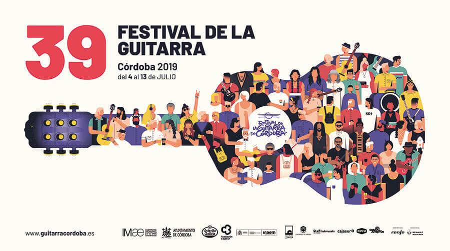 Cartel Festival Guitarra Cordoba 2019