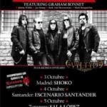Cartel conciertos Alcatrazz España 2019