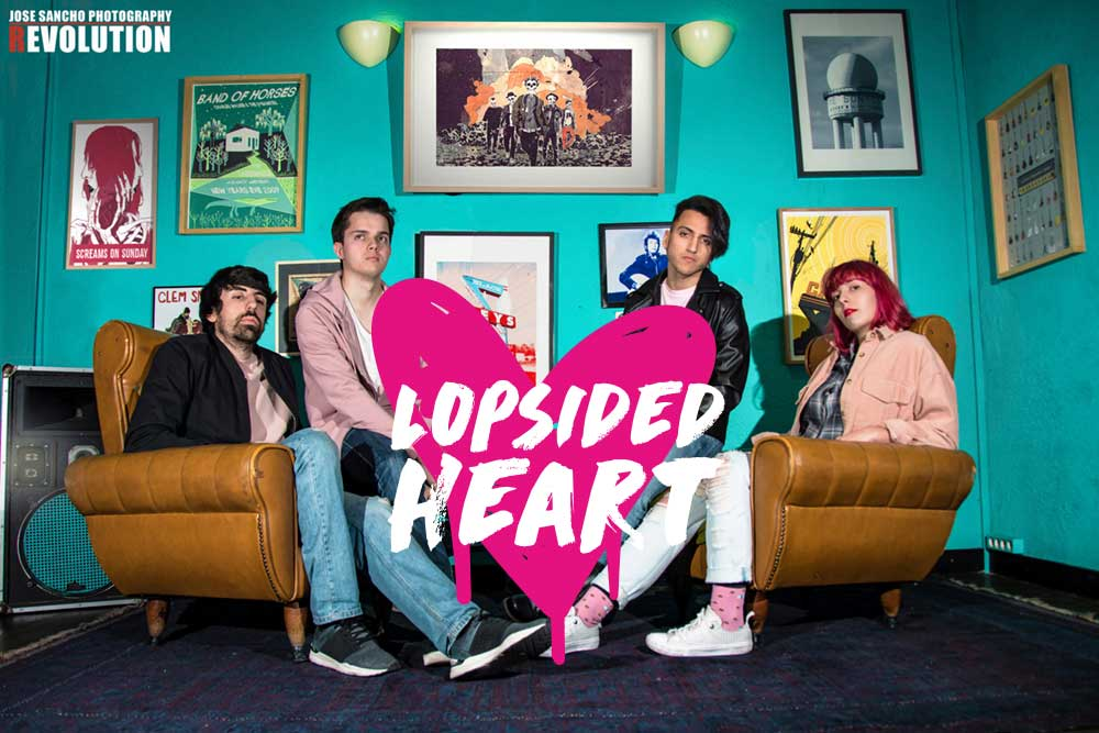 Screams On Sunday lanza nuevo single Lopsided Heart