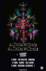 cartel conciertos All Them Witches