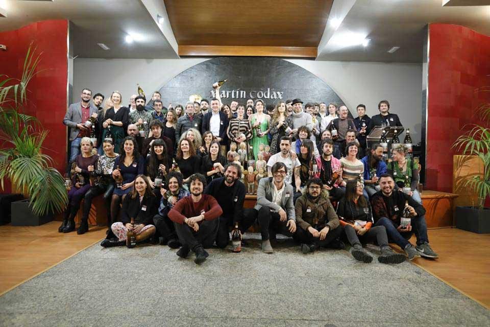 Finalistas de los Premios Martín Códax da Música 2019