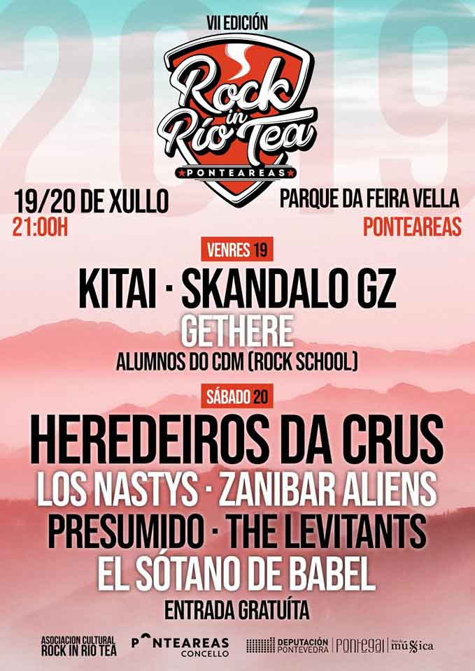 cartel Rock In Rio Tea 2019