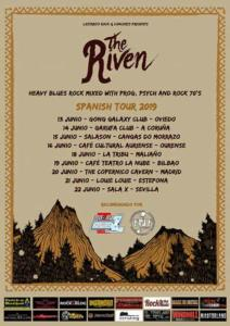 Cartel conciertos The Riven 2019