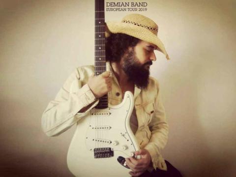 Conciertos de Demian Band, blues rock de la mano del guitarrista Demian Domínguez