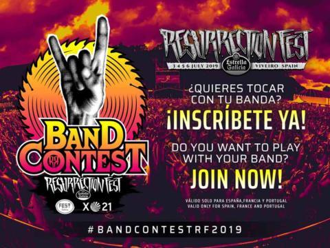 ¿Quieres tocar en el Resurrection Fest Estrella Galicia 2019? ¡Gracias a Fest Galicia, vuelve el Band Contest!
