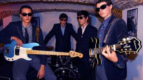 Conciertos de los franceses, The Arrogants, los chicos más salvajes de Lille con su Garage – Rhythm & Blues – Punk 60's!!