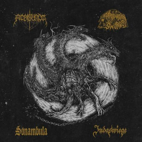 Tetrarchia Ex Bestia: Disco conjunto entre Barbarian Swords, Judaswiege, Sönambula y Moribundo