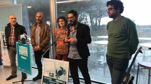 Cartel y programa del Fisterra Blues Experience 2019