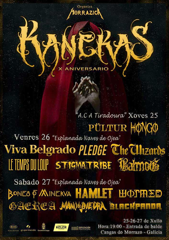 Cartel Kanekas Metal Fest 2019