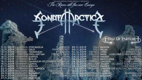 "Sonata Arctica anuncian su gira ""The Raven still flies over Europe"""