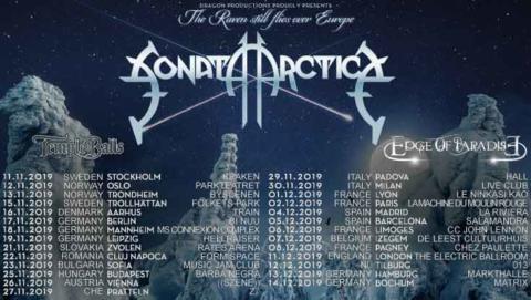 """Sonata Arctica anuncian su gira """"The Raven still flies over Europe"""""""
