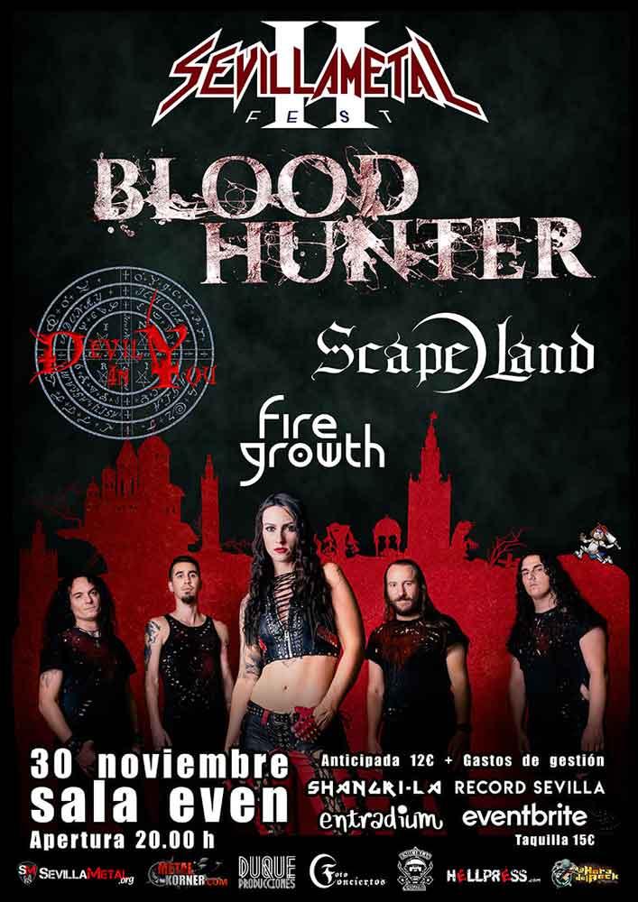 cartel Sevilla metal fest 2019