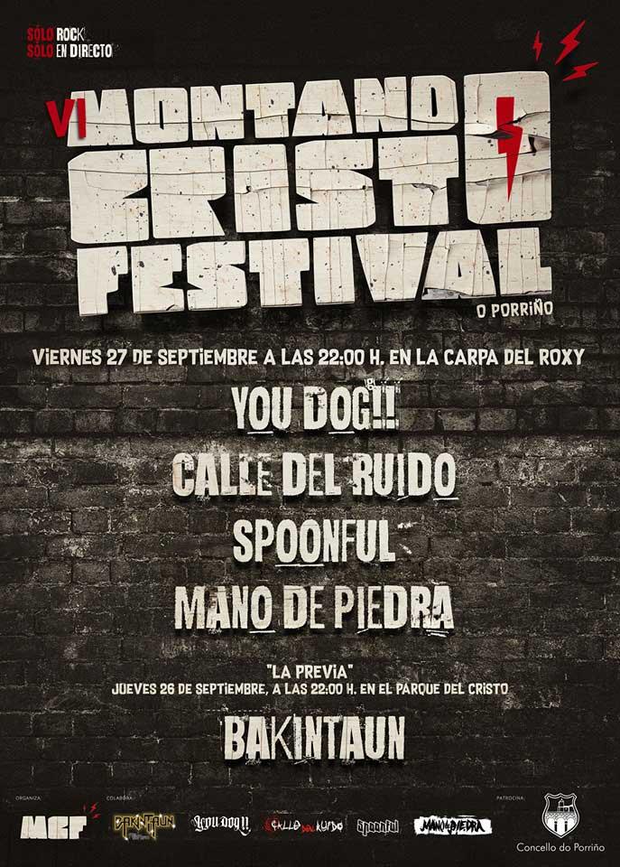cartel Montando Cristo Festival 2019